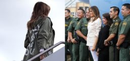 Here's The Powerful Thing Melania Was Doing While Media Was Freaking Out Over Her Jacket