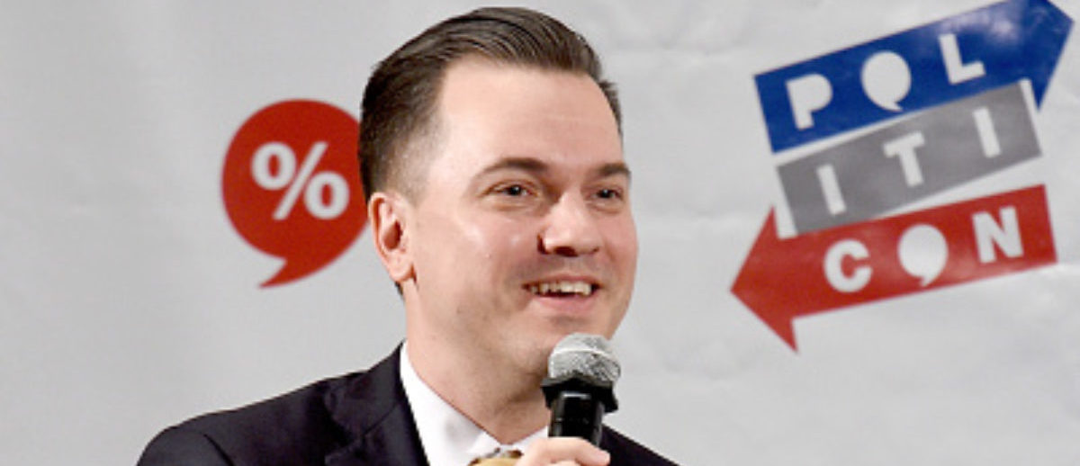 PASADENA, CA - JULY 29: Austin Petersen at the 'Dr….Who?' panel during Politicon at Pasadena Convention Center on July 29, 2017 in Pasadena, California. (Photo by Joshua Blanchard/Getty Images for Politicon)