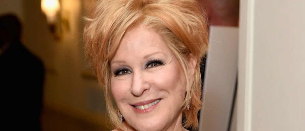Bette Midler Under Fire Following Post About Trump Paying Black Supporters To Attend Rallies