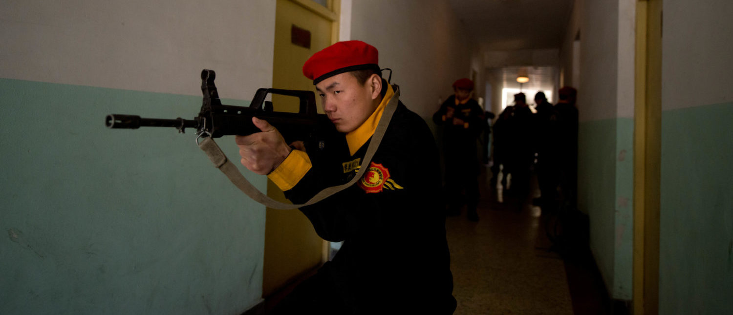 China Claims It Has Developed A New Laser Gun That Can Set