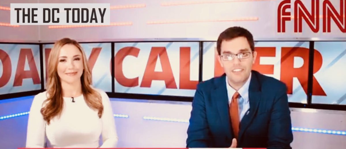 Media Hysteria Reaches New Heights After Trump-Putin Summit, Screen Shot/ The Daily Caller
