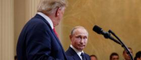 Trump Confronts Putin On Election Meddling