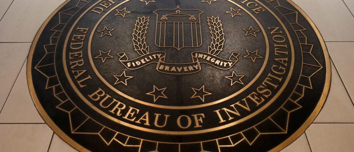 The Federal Bureau of Investigation seal is seen at FBI headquarters in Washington, U.S. June 14, 2018. REUTERS/Yuri Gripas