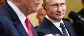 Trump Cleans Up Comments On Russian Meddling