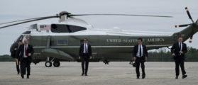 Trump Honors Fallen Secret Service Agent, Receives His Body