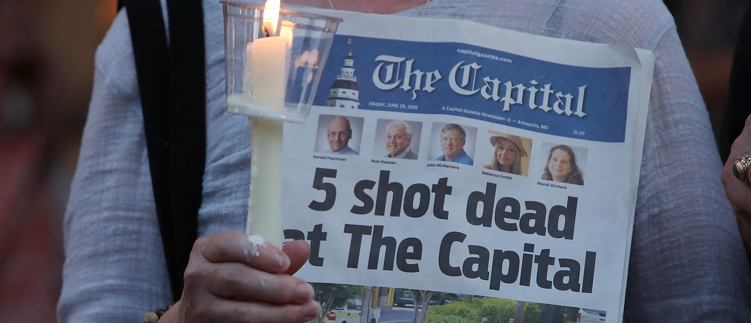 Trump To Lower Flags To Half-Staff After Capital Gazette ...