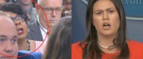 April Ryan Keeps Interrupting Sarah Sanders – Sarah Finally Loses It