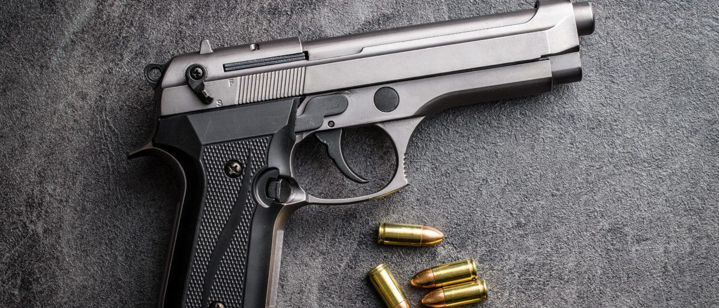 Handgun (Shutterstock/Jiri Hera)
