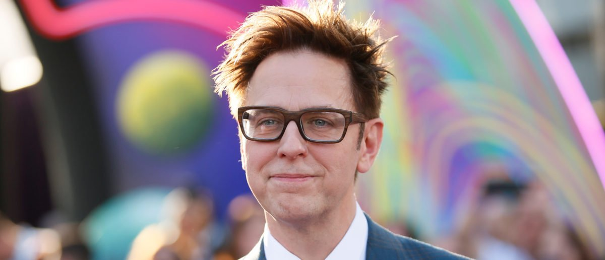 """Writer and director James Gunn poses at the world premiere of Marvel Studios' """"Guardians of the Galaxy Vol. 2."""" in Hollywood, California, U.S. Wednesday, April 19, 2017 REUTERS/Danny Moloshok"""