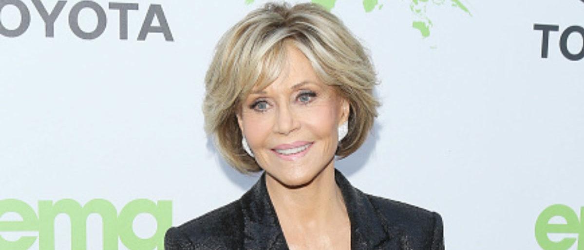 Jane Fonda attends the 1st Annual Environmental Media Association Honors Benefit Gala held on June 9, 2018 in Los Angeles, California. (Photo by Michael Tran/FilmMagic)