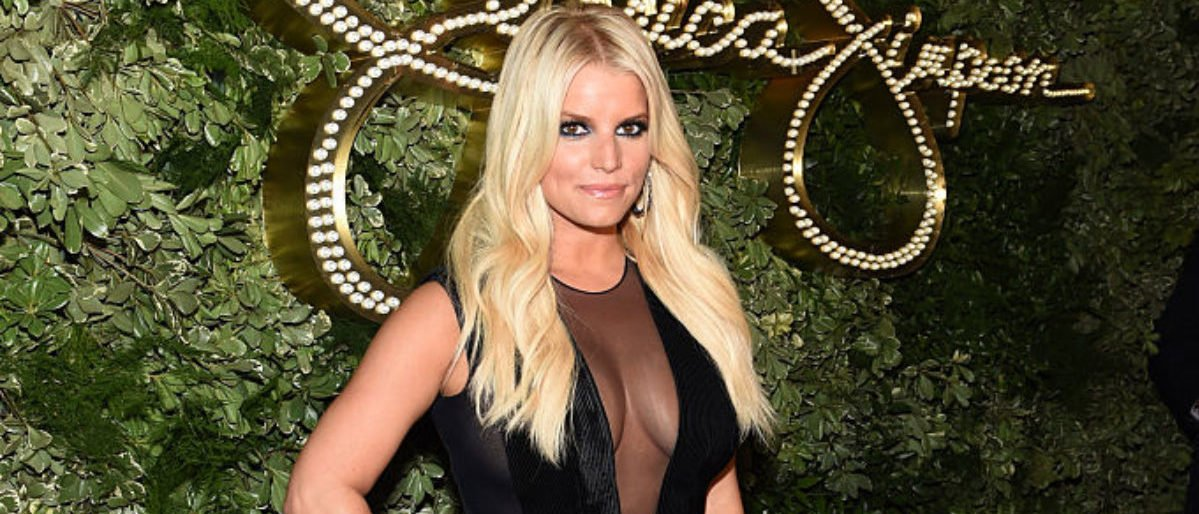 Jessica Simpson attends the 10th Anniversary Celebration of the Jessica Simpson Collection at Tavern on the Green on September 9, 2015 in New York City. (Photo by Jamie McCarthy/Getty Images for Jessica Simpson Collection)