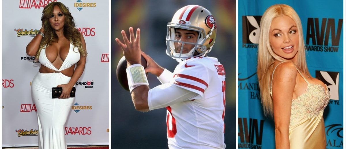 Jimmy garoppolo is dating the adult actors