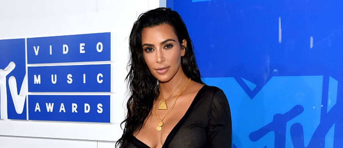 Kim Kardashian West attends the 2016 MTV Video Music Awards at Madison Square Garden on August 28, 2016 in New York City. (Photo by Larry Busacca/Getty Images)