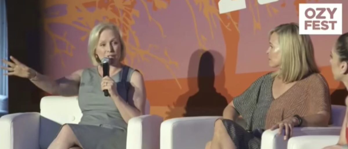 Kirsten Gillibrand wants Democrats to abolish ICE and pass gun control as soon as they take back Congress Screenshot/YouTube