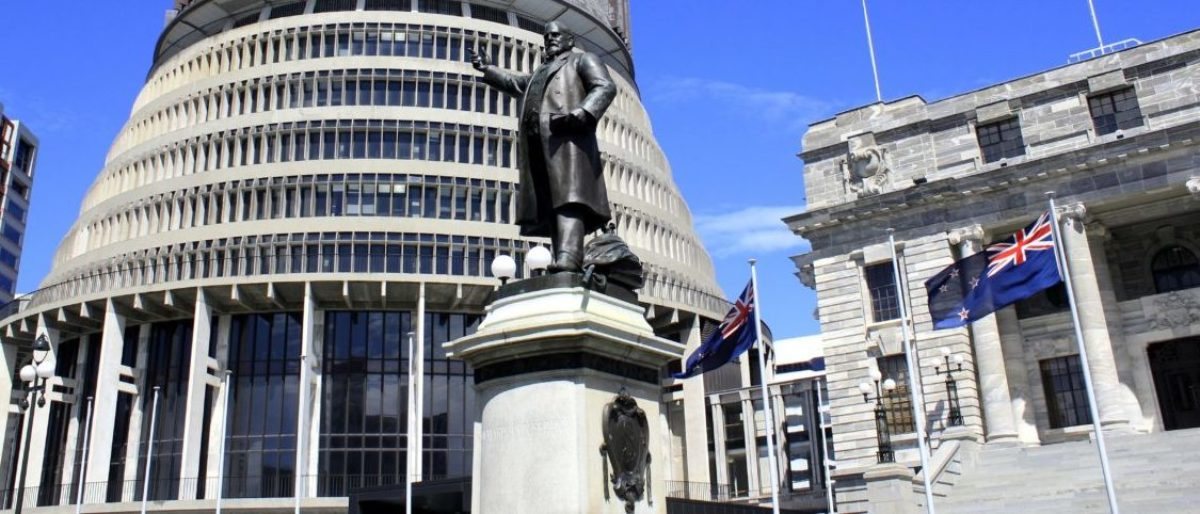 New Zealand Parliament is the first Western governing body to pass paid leave for victims of domestic abuse. (Shutterstock)