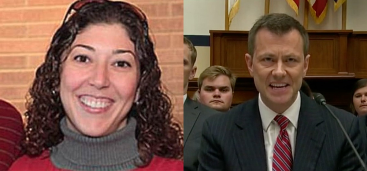 The First Images Of Peter Strzok Lover Lisa Page Entering