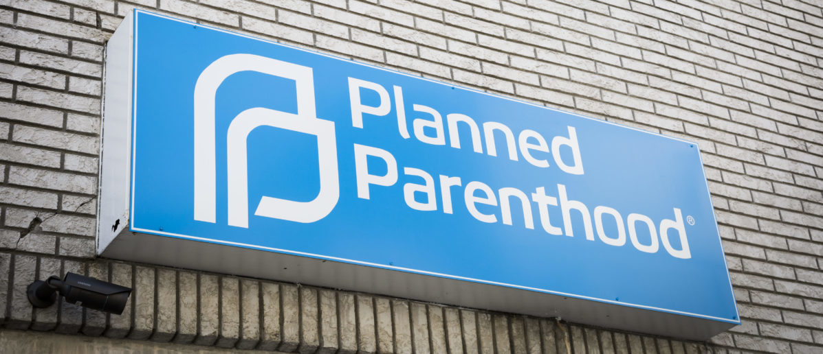 Pictured is a Planned Parenthood sign.(Shutterstock/Glynnis Jones)