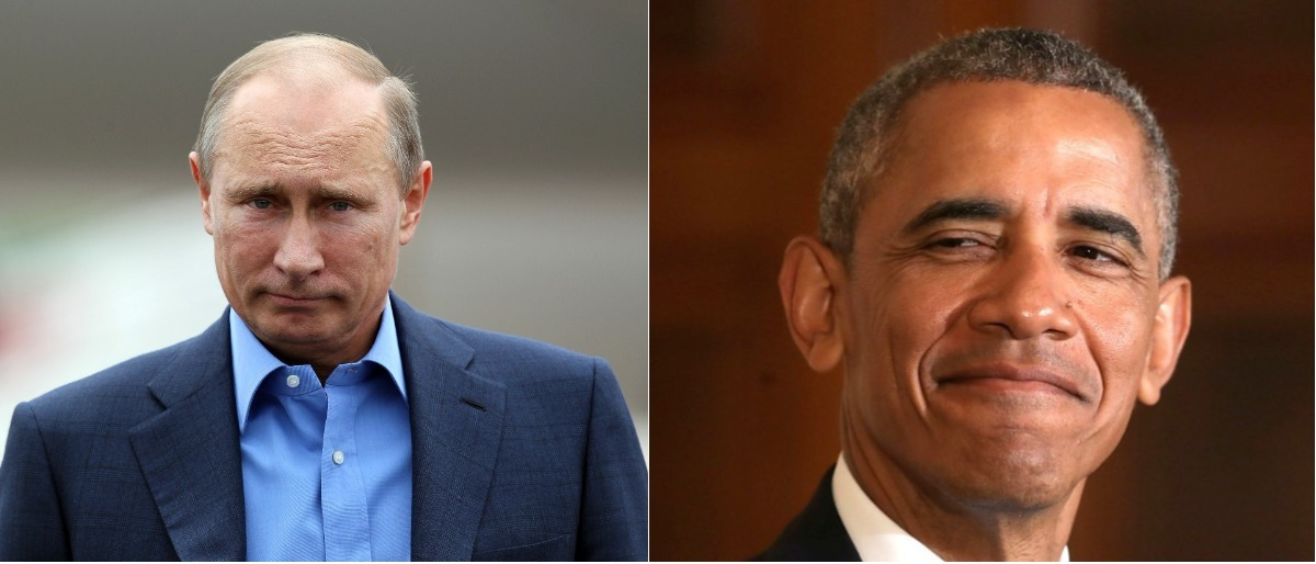 Putin and Obama Getty Images/WPA Pool, Getty Images/Chip Somodevilla