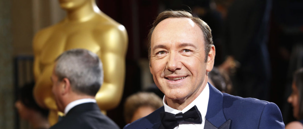 Actor and presenter Kevin Spacey arrives at the 86th Academy Awards in Hollywood, California March 2, 2014. REUTERS/Adrees Latif