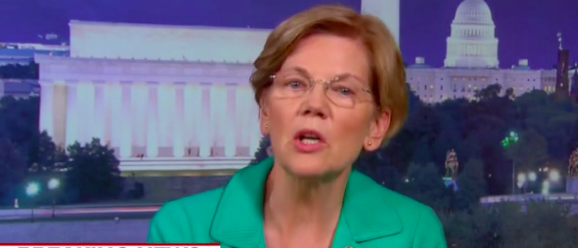 Elizabeth Warren Comes Out Against Trump's SCOTUS Pick Because She's Oddly Afraid He'll Be A Judicial Activist [VIDEO]