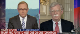 'The Question Is Silly' — John Bolton Dismisses ABC News Anchor Who Compared Trump To Putin