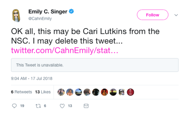 how to delete a tweet 2018