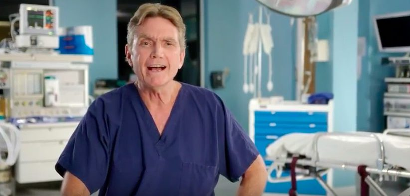 Dr. David Woolsey in Senate Majority PAC Ad For Bill Nelson. (Senate Majority PAC/YouTube)
