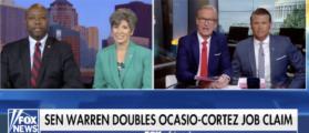 Sen. Scott Calls Out Ocasio-Cortez And Sen. Warren For Ridiculous Jobs Claims