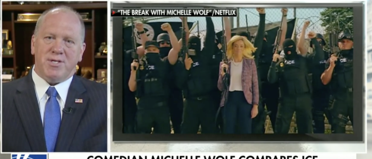 Former ICE Acting Director Shreds Michelle Wolf For 'Repulsive' ICE-ISIS Video