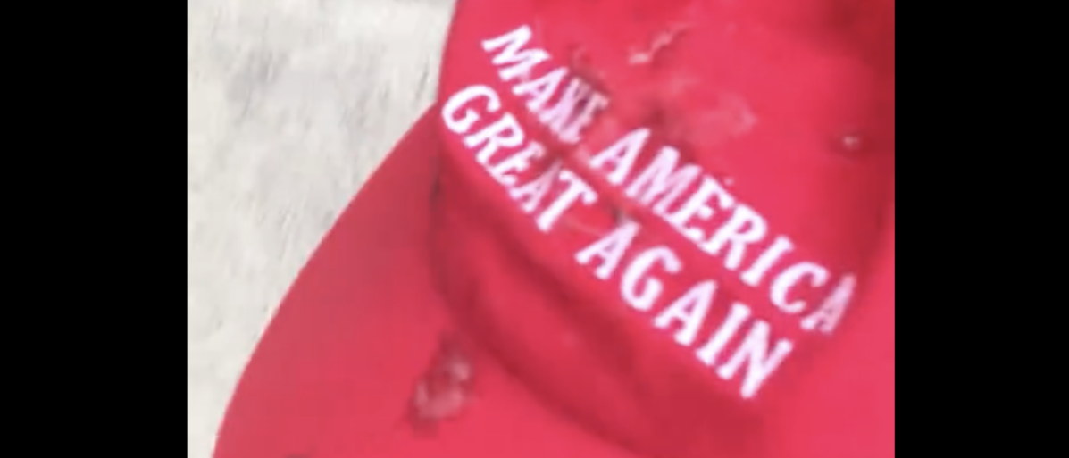 Teen has MAGA ripped from head and spit on (Youtube Screenshot from Ashton Hess 7/18/2018)