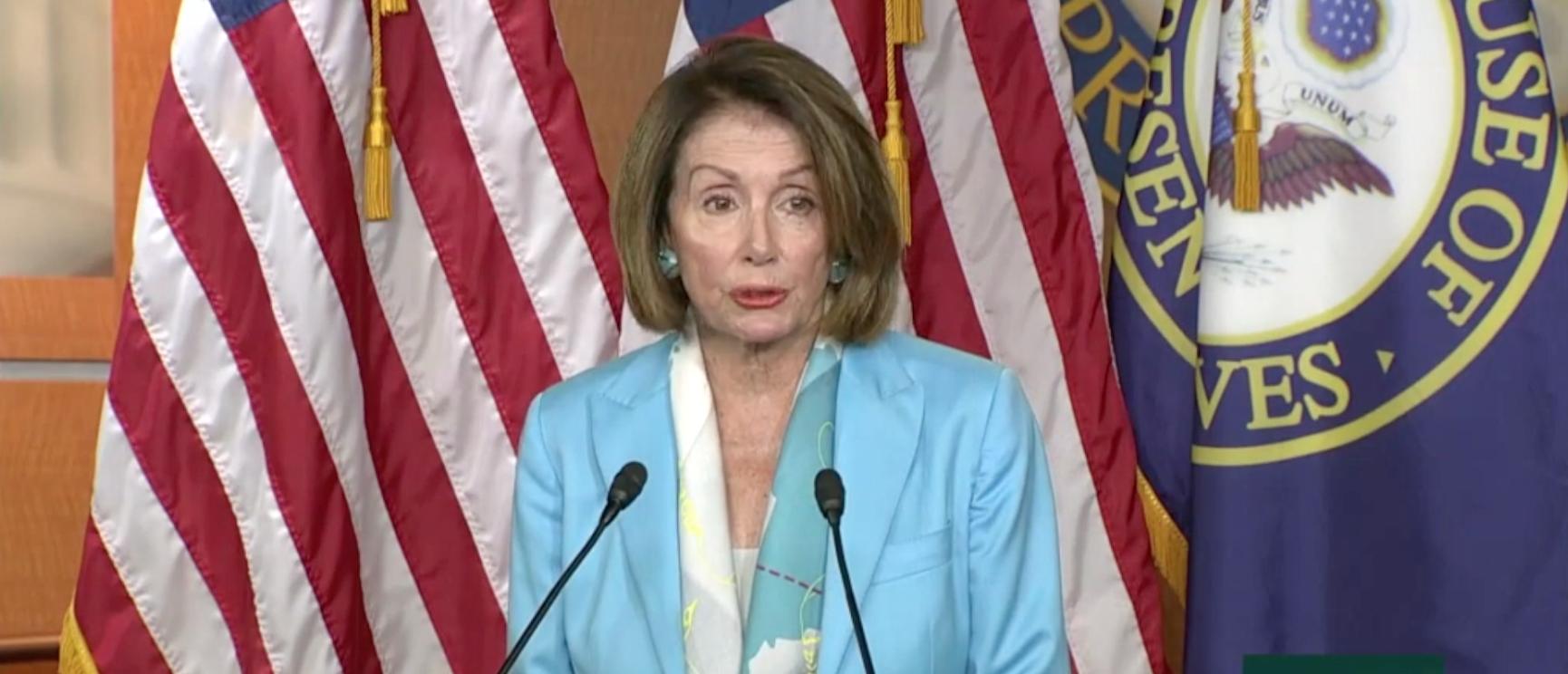 Nancy Pelosi At Weekly Press Conference (Grabien: July 26, 2018)