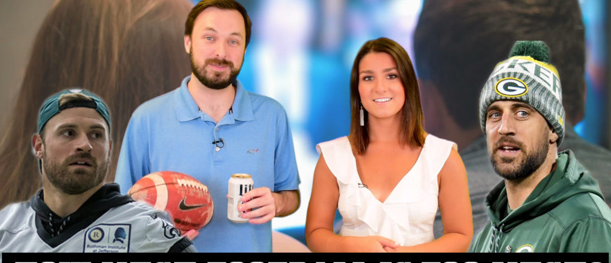 DEBATE: Is It 100% Rational To Throw Your Love Life Into The Incinerator For Football? [VIDEO]