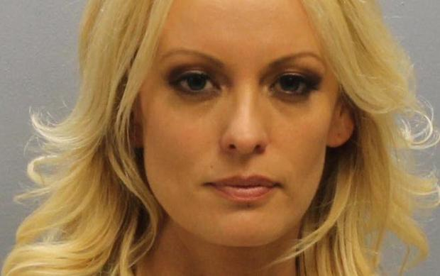 Shot of Stormy Daniels via the Franklin County Sheriff's Office
