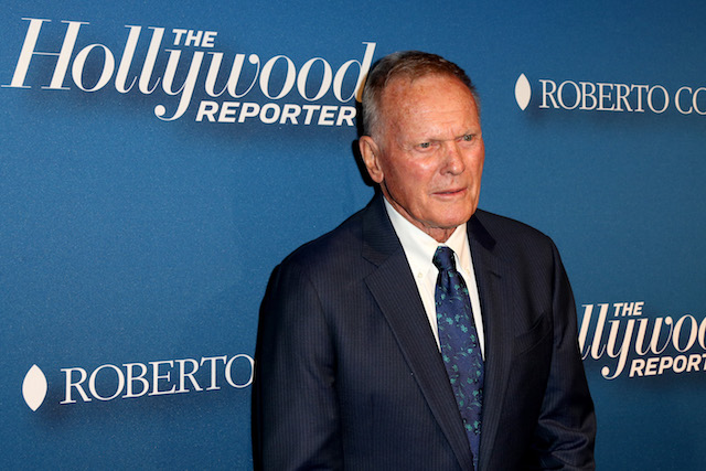 Actor Tab Hunter attends The Hollywood Reporter's 4th Annual Nominees Night at Spago on February 8, 2016 in Beverly Hills, California. (Photo by Frederick M. Brown/Getty Images)