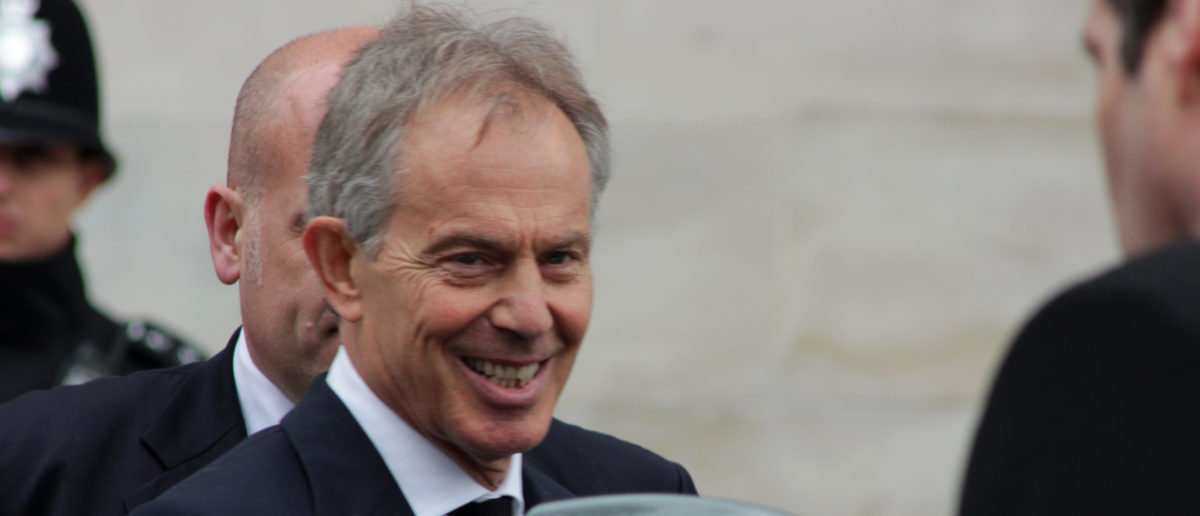 Former Prime Minister Tony Blair calls for a second referendum on Brexit. (Shutterstock)