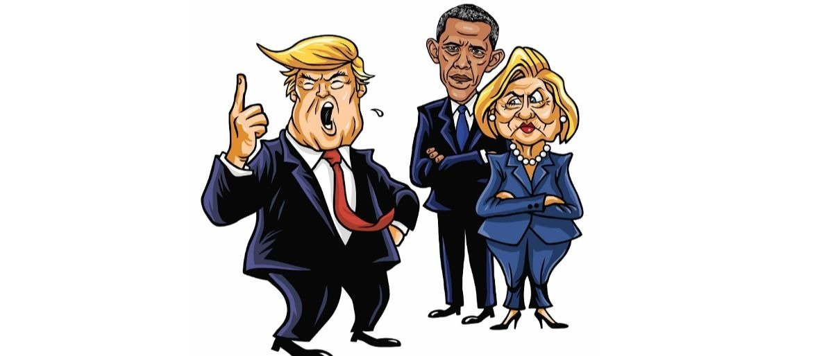 Trump Clinton Obama Shutterstock/doddis77