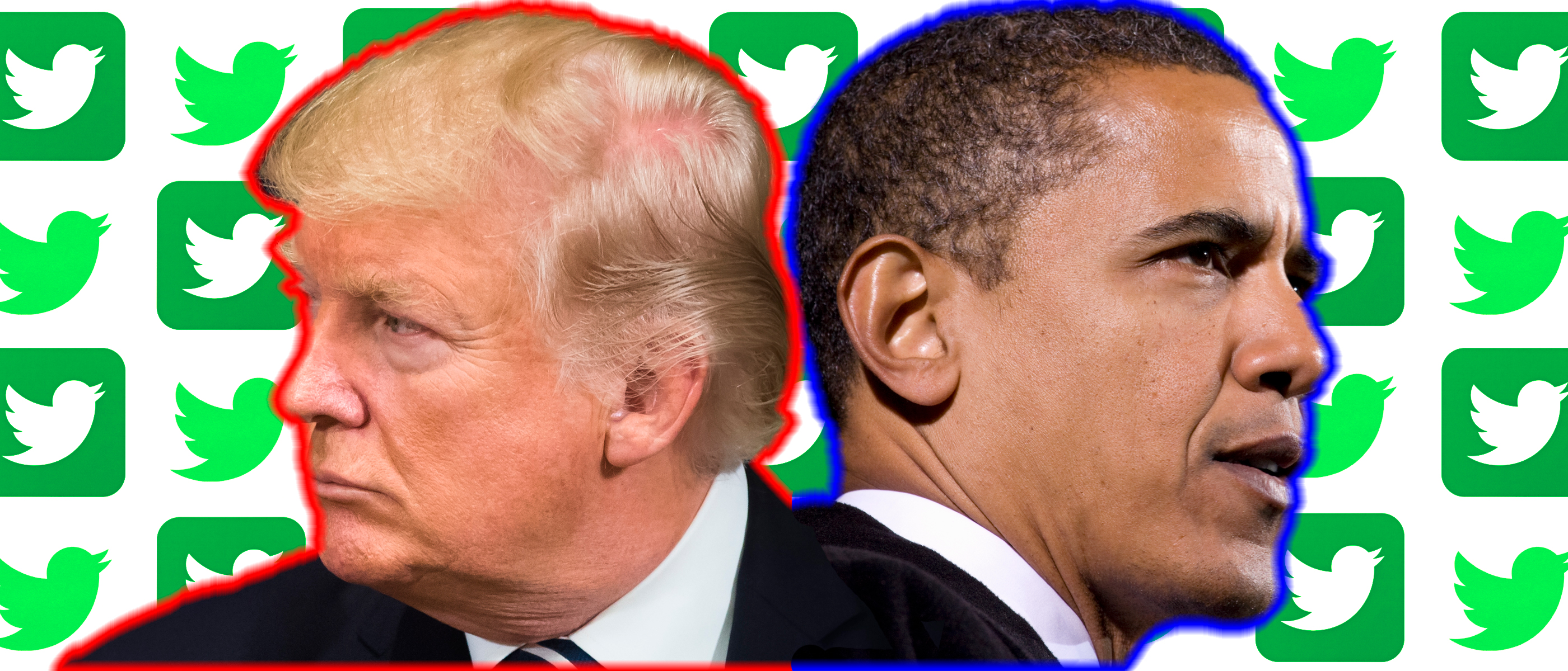 President Donald Trump and former President Barack Obama lost a substantial number of followers after Twitter removed locked accounts for suspicious activity. (Images: Shutterstock.com, edits made by Kyle Perisic)