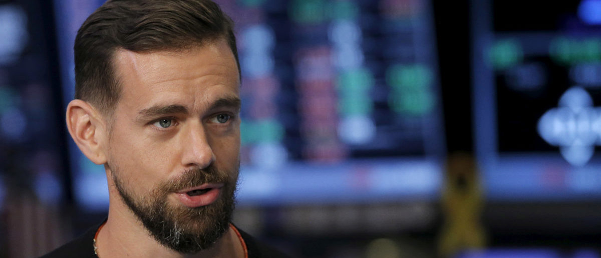 Twitter CEO Jack Dorsey, whose company suppressed the accounts of several Republican congressmen REUTERS/Lucas Jackson