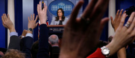 MSNBC And CNN Employees Dominate White House Press Briefings