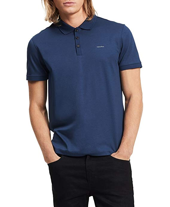 Normally $58, this men's polo is 61 percent off today (Photo via Amazon)