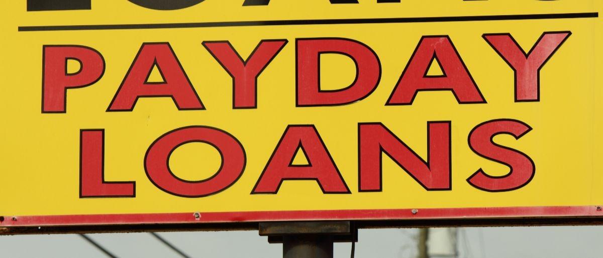 payday loans Shutterstock/Jean Faucett
