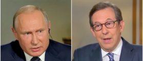 Putin Bristles Under Tough Questioning From Fox News' Chris Wallace