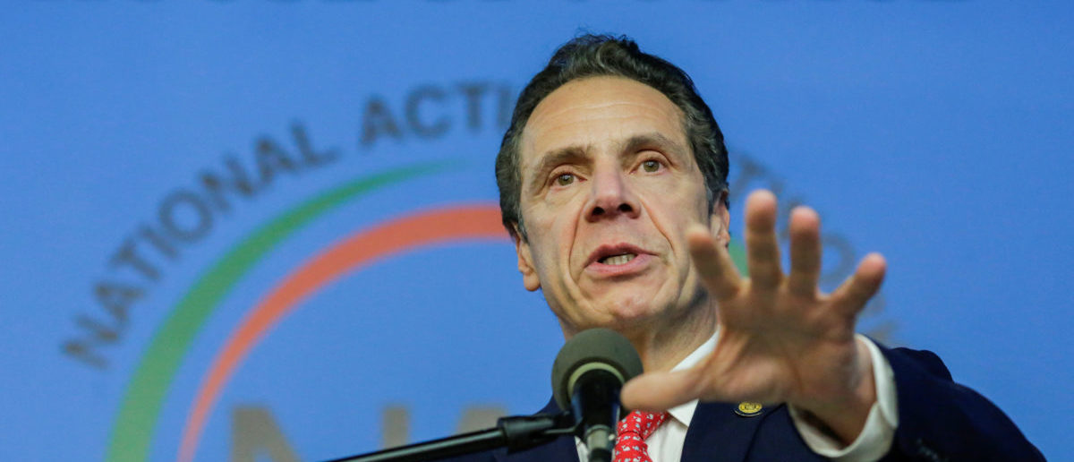Andrew Cuomo: Trump's America Consists Of 'Sexism, Racism, Bigotry, And Intolerance'