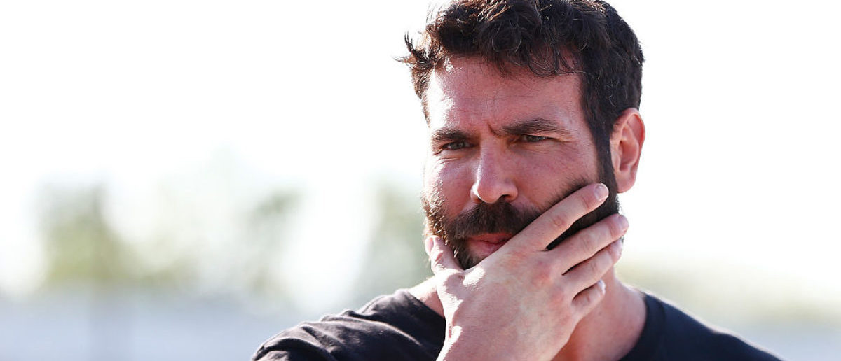 RICHMOND, VA - APRIL 24: Poker player Dan Bilzerian attends qualifying for the NASCAR Sprint Cup Series Toyota Owners 400 at Richmond International Raceway on April 24, 2015 in Richmond, Virginia. (Photo by Kevin C. Cox/Getty Images)