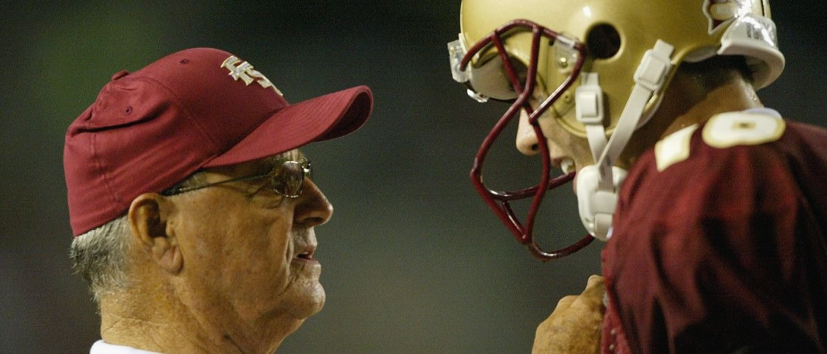 Bobby Bowden Getty Images/Andy Lyons