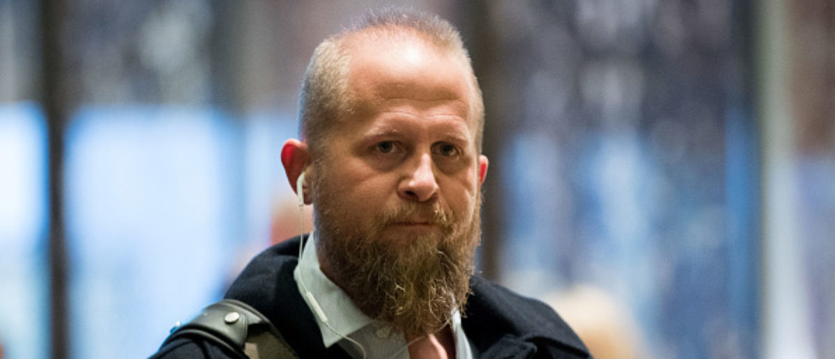 Brad Parscale, President Donald Trump's campaign digital director, arrives at Trump Tower, December 6, 2016 in New York City. Trump and his transition team are in the process of filling cabinet and other high level positions for the new administration. (Photo by Drew Angerer/Getty Images)