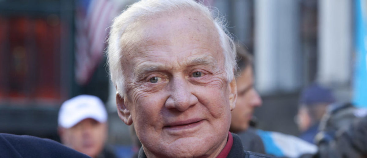 """Former astronaut and American hero Buzz Aldrin has called President Donald Trump's proposal of the Space Force """"one giant leap in the right direction"""" on Friday. (Shutterstock)"""