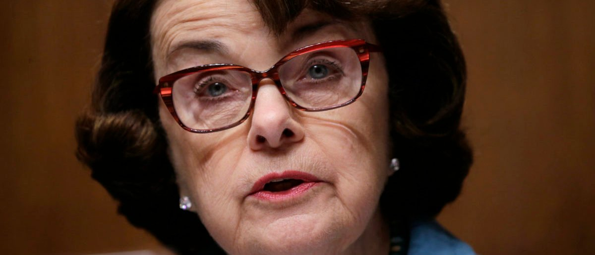 Democratic California Sen. Dianne Feinstein allegedly had a Chinese spy in her office. REUTERS/Kevin Lamarque