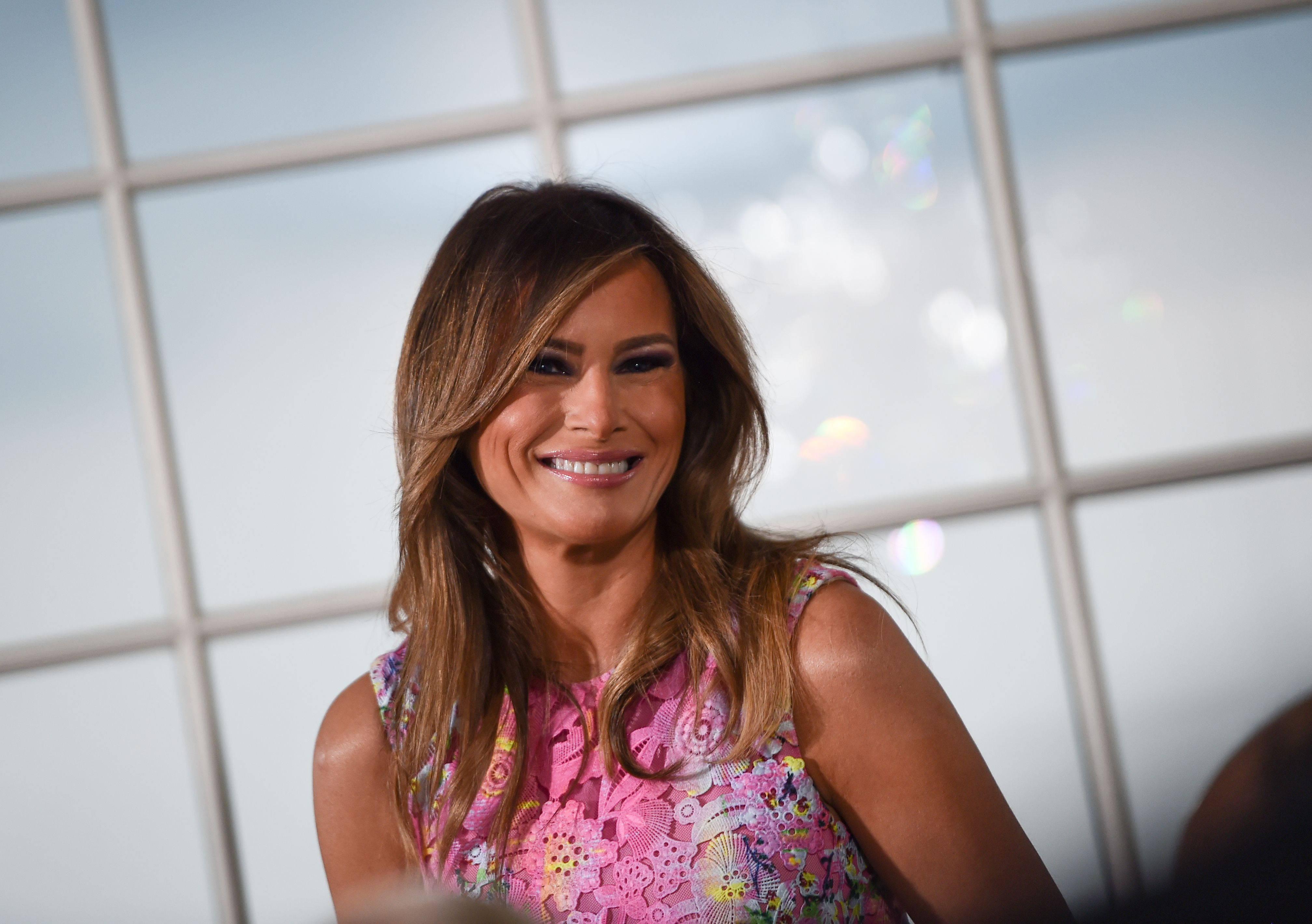 Melania Trump Praises Apple For 'Big Innovations & Investments In The USA'