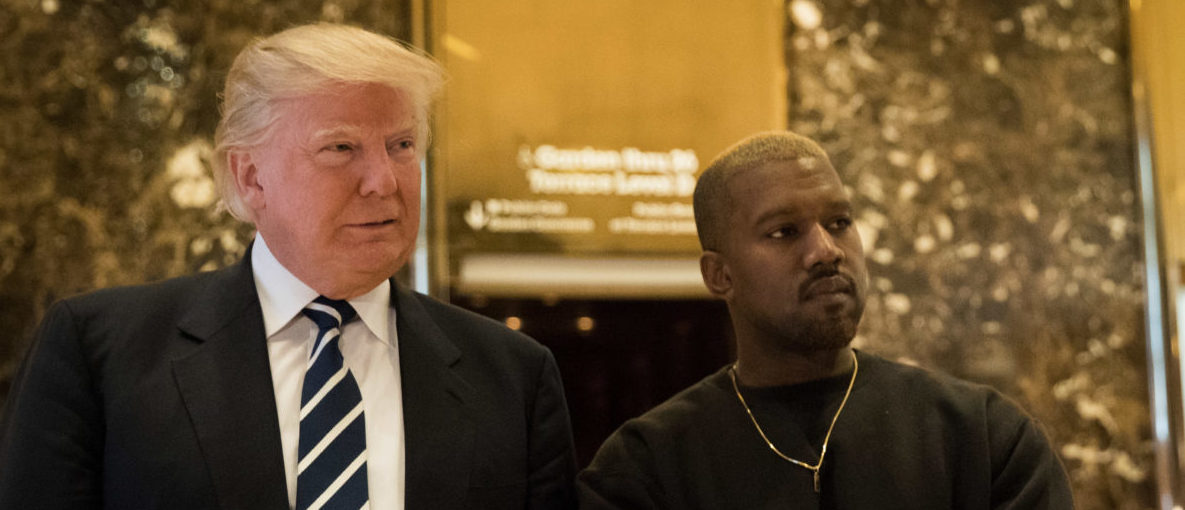 Kanye West Lavishes Praise On Trump In 10-Minute Oval Office Speech